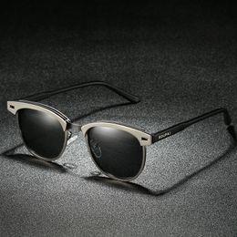 2019 homens de óculos de sol ray Bruno dunn Polarizada Sunglases Homens  Mulheres Design Retro Marca 5cdfd8deb4
