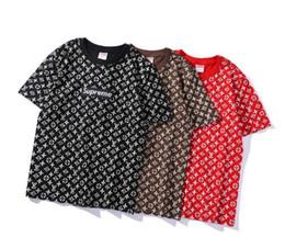 Wholesale mans brand names clothing - New Brand Joint name Designer T-shirts Men Polo Box Jointly Logo women T shirt For Women Men Sup Fashion Poloshirt Luxury T-Shirts Clothing