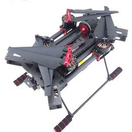 H450 Fibra De Carbono FPV Quadcopter Dobrável Quadro w / Sunnysky X3508S 700KV Motor / 30A ESC / Naza Lite + GPS / Radiolink AT9 / hélice de Fornecedores de helicóptero de controle remoto 3,5 canais