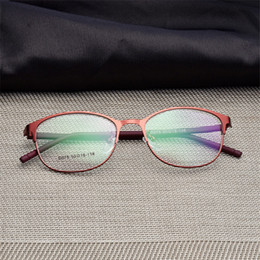 Chegada nova dos homens mulher titanium permitir full aro óculos olho moda  masculina óculos super leve ocasional quadro óptico para homens acessível  bordas ... 4c7570b335