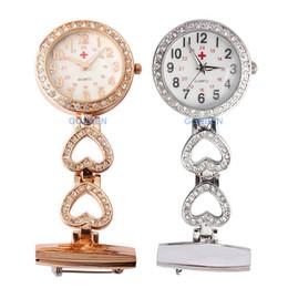 2019 assistir clipes Enfermeiras fob Relógios Clip-on Broche Medical Pocket Watches Entrega Médico Paramédico Enfermeira Lapela Pin Watch desconto assistir clipes