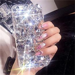 2019 casi di telefono da 5,7 pollici Caso di moda 1Pcs per Razer Phone 5.7 pollici di lusso di cristallo del diamante del rhinestone Bling Clear Phone Case per Razer Phone 5.7 pollici casi di telefono da 5,7 pollici economici