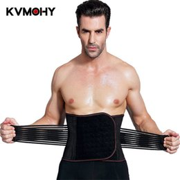 2019 мужская стальная лента Waist Trainer Corset Men Slimming Body Shapers Steel Boned  Modeling Strap Wrestling Male Waist Belt Homme Faja дешево мужская стальная лента
