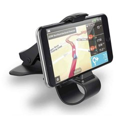 Wholesale Cradle Designs - Car-styling Universal Car Phone GPS Mount Dashboard Cell Phone Holder Stand HUD Design Cradle New 612