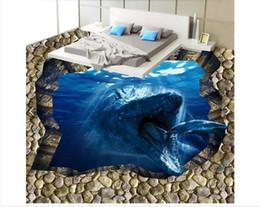 3d Fußboden Hai ~ Rabatt haifisch wandaufkleber haifisch wandaufkleber im