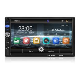 Зеркальное отображение bluetooth онлайн-2 DIN автомобильный радиоприемник сенсорный экран видео Поддержка Bluetooth TF SD MMC USB FM зеркало ссылка