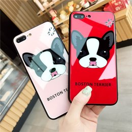 Wholesale cute mobile cases - Best Sell Item Cute Dog Shape TPU Tempered Glass Anti-dirt Mobile Phone Case for iphone Case
