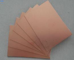 2019 videos de ropa Circuito revestido de cobre de la hoja laminada de 75x100x1.5mm FR4 PCB lateral doble 10X7.5cm videos de ropa baratos