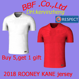 Wholesale football uk - Thailand soccer jerseys soccer tracksuit Player Version KANE UK BARKLEY HENDERSON VARDY ALI ROONEY Beckham World cup 2018 football shirt