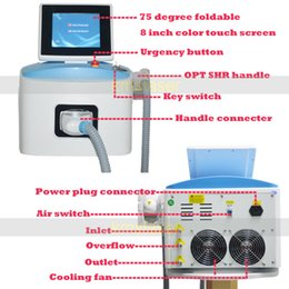 Wholesale Hair Products Acne - IPL SHR machine SHR IPL Reduction of Pigmented Lesions IPL Laser hair removal Machine New Products on China Market