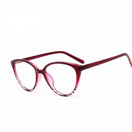 9f1010f3a6 Marco hermoso Marca Eye Glasses Frame Mujeres Moda Hombres cat Anteojos  Ópticos Eyewear Oculos De Grau Armacao Femininos Ofertas de anteojos ópticos