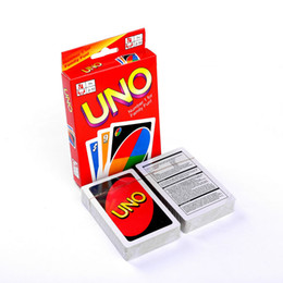 playing cards puzzle UK - One Pack of 108pcs UNO Card Playing Puzzle Board Game Playing Cards Poker Family Fun Set Poker Game