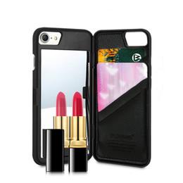 FLOVEME Étui Miroir Pour iPhone 6 6s 7 Plus Portefeuille + Fente Pour Carte Maquillage Cas de Téléphone Pour Apple iPhone 8 X 7 Plus 10 Femme Coque ? partir de fabricateur