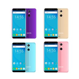 Wholesale Pink Touch Mobiles - Original 5.5inch Oukitel C8 MT6580A Cell Phone RAM 2GB ROM 16GB 13MP WCDMA 3G WIFI GPS Bluetooth With TOUCH ID Mobile Phone