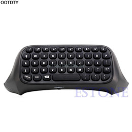 Wholesale Usb Game Pad - High Quality Details about USB 2.4G Wireless Messenger Game Controller Keyboard Keypad Chat Pad For Xbox One B W #L059# new hot