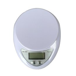 Wholesale 5kg Digital Scale - New Hot 5Kg 1g LCD Display Digital Kitchen Scale Electronic Weight Balance Food Diet Kitchen Scales Measuring Weight