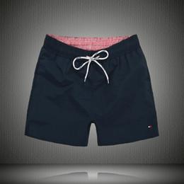 Nouveaux pantalons pour hommes en Ligne-New Board Shorts Hommes Summer Beach Shorts Pantalons Maillots de bain de haute qualité Bermuda Male Lettre Surf Life Hommes Nager