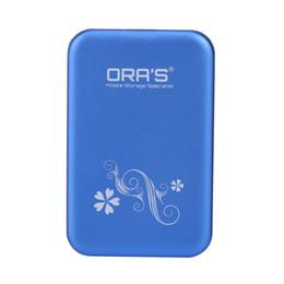 Wholesale external hard drive case cover - Wholesale- Metal USB 3.0 2.5 inch SATA External HDD HD Hard Drive Disk Enclosure Cover Case External HD Enclosure for Windows Mac OS