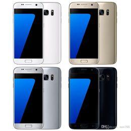 Обновленные мобильные телефоны qwerty онлайн-Goophone S7 5.1-дюймовый S7 edge 5.5-дюймовый разблокированный сотовый телефон Quad Core Android 4 ГБ оперативной памяти 32 ГБ Rom смартфон отремонтированный телефон