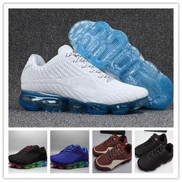 Wholesale Tpu Sports Shoes - Newest Running Shoes Vapormax TPU 2018 Men Casual Air Cushion Women Boost Sport Athletic Shock Sneakers Outdoor Jogging Hiking Shoes36-46