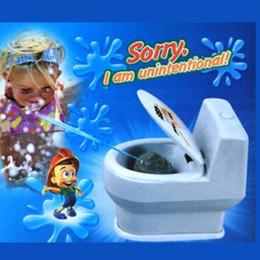 Wholesale toilet toys - Funny Closestool Joke Toy For Children Novelty Children Gift Halloween Prank Spray Water Toilet Vent Toys Multi Color 2