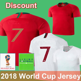Wholesale quick delivery - 2018 World Cup 7 3 PEPE Soccer Jersey Thailand Football Uniform J.MOUTINHO EDER ANDRE SILVA J.MARI Delivery Guaranteed