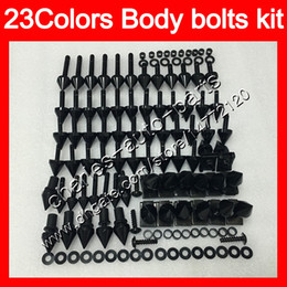 1988 cbr Coupons - Fairing bolts full screw kit For HONDA CBR400RR 87 88 89 NC23 CBR400 RR CBR 400RR 400 1987 1988 1989 Body Nuts screws nut bolt kit 25Colors