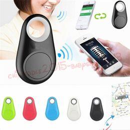 Aktivite Gps Izci Mini Akıllı Kablosuz Bluetooth 4.0 GPS izci Bulucu Çanta Anahtar Anti-Kayıp Alarm Bulucu iPhone android Için Cüzdan Araba Çocuk nereden ucuz led ses ışıkları tedarikçiler