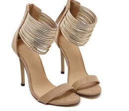 Offene toe low heeled schuhe online-Frauen Sandalen dünne High Heels offene Zehe sexy Partei Frühling Sommer Frauen Schuhe Frau High-Heel Low Hilfe Open-Toe