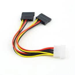 2019 sas жесткий диск новое прибытие 10 шт. Serial ATA SATA 4 Pin IDE Molex до 2 из 15 Pin HDD адаптер питания кабель горячей во всем мире продвижение
