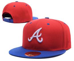 Wholesale braves snapback - High Quality Full Camo Braves Snapback Hat For Men Classic Letter A Embroidered Team Logo Bones Sports Baseball Flat Caps Hip Hop Chapeus