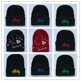 12fa0b3fc7c New Design Blingbling Beaines Breaking hair Bad Hair Day wool hats hiphop hats  Korean knitted men and women autumn and winter hat