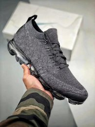 Wholesale Quality W - 2018 New Arrival VaporMax 2.0 W Sneakers Running Shoes for Men Women Athletic Trainers Outdoor Sports shoes top quality flat shoe