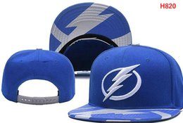 Wholesale High Quality Silk Tie - Wholesale new arrival Tampa Bay hats Snapback Lightning Caps Adjustable All Team Baseball women men Snapbacks High Quality Sports hat