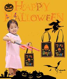 Halloween-Tasche Kürbis-Spinnen-Netz-Beutel-Süßigkeits-Taschen-Handparty-Geschen
