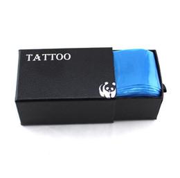 100 Pcs / pack Tatouage Clip Cordon Manches Sacs Fourniture Jetable Couvre Sacs Pour Tatouage Machine Professionnel Tatouage Accessoire Bleu ? partir de fabricateur