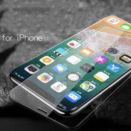 Protecteurs d'écran de téléphone portable pour Apple X iPhone7Plus iPhoneX film de téléphone portable 6S film protecteur film de verre en gros ? partir de fabricateur