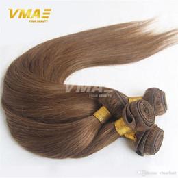Brezilyalı 8 # Düz İnsan Saç Örgüleri 3 Demetleri Lot VMAE Saç uzantıları Sıcak Güzellik Ucuz Yumuşak Kalın Uç Saç nereden