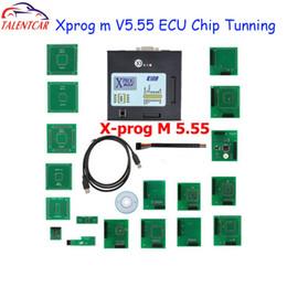 Wholesale Ecu Tune - Top Sale XPROG-M X Prog M Box V5.55 Auto ECU Chip Tuning Programmer Xprogm Xprog 5.55 Xprog5.55 better than Xprog5.50 X-prog 5.0
