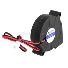 Wholesale Dc Cooling Blower Fan 12v - 50mmx15mm DC 12V 0.14A 2-Pin Computer PC Sleeve-Bearing Blower Cooling Fan 5015 #H029#