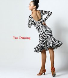 5429999ca08 S-XXL Jupe Femme Competition Latin Dance Wear Women Ballroom Dress Long  Sleeved Girl Salsa Tango Costumes Ladies Beyonce Leotard