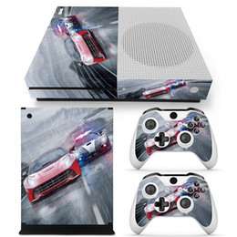 Wholesale microsoft accessories - Fashion Game Accessories Protective Decals For Microsoft xbox one S Console and 2 Controllers Cover Skin Stickers