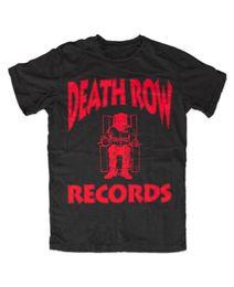Detalhes de impressão on-line-Detalhes zu T-shirt Death Row Registros Logotipo o mais rápido possível Tupac 2Pac Makaveli Costa Oeste Hip Hop Tyga Unisex Engraçado de Alta Qualidade Casual Impressão