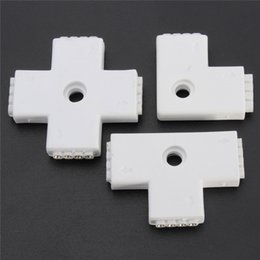 Wholesale Rgb L - X T L Type Shaped 4 Pin Quick Led Strip Light Adapter Accessories For 3528 5050 SMD RGB