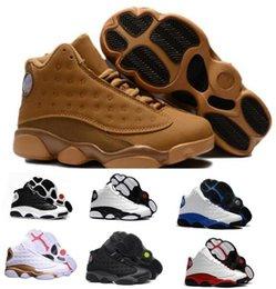 Wholesale Fabrics China - Lasts Air 13 Basketball Shoes Sneakers Mens Women Yellow Hologram Hoyas Chicago Sport Reloj 13s XIII DMP Men Tennis Trainers China Shoe
