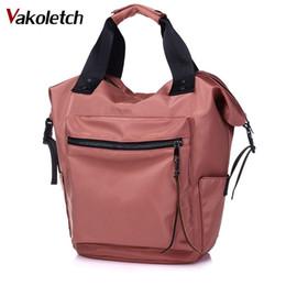 6ed8f399a9cb Ladies High Capacity Back To School Bag Teenage Girls Travel Students 2018  Nylon Backpack Women Casual Backpacks KL461
