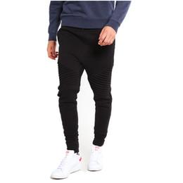AKSR Pantalón de algodón casual para hombre Pantalón de chándal Slim Fit  Pantalones de chándal Hip Hop con cordones Pantalones Harem Pantalones 9fb6da9aafea
