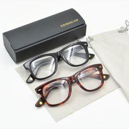 404f7726ac Black Tortoise Vintage Optical Eye Glasses Frames for Women and Men Oliver  Peoples Big Frame Myopia Spectacles Eyeglasses Frame