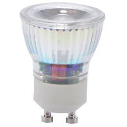 Levou lâmpadas pequenas on-line-Pequena lâmpada mini GU10 COB 35mm Holofotes 220 v 3 w dimmable lâmpada led Quente / Cool White 220 v lâmpada GU10 cob substituir lâmpada de halogéneo