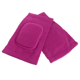 Wholesale gym baby pad - 1Pair Baby Kids Sport Gym Knee Support Safety Dance Volleyball Tennis Sponge Kneepads